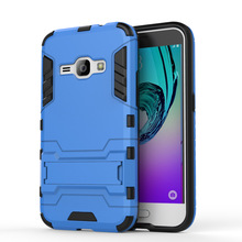 Robot Hard Case on for Samsung Galaxy J1 2016 Case Cover Samsung J1 2016 Phone Case Galaxy J1 2016 Bumper Shell TPU & PC Holder