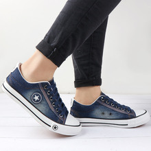 Vulcanize Shoes Denim Sneakers Women Basket Femme Canvas Shoes Anti Slip Tenis Feminino Ladies Zapatillas Mujer Casual