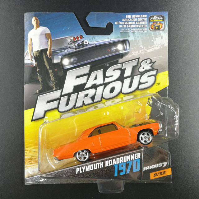 Hot Wheels 1:55 Fast Furious Toy Cars Dodge Charger Collector Edition Metal Diecast Model Car Kids Toys Gift