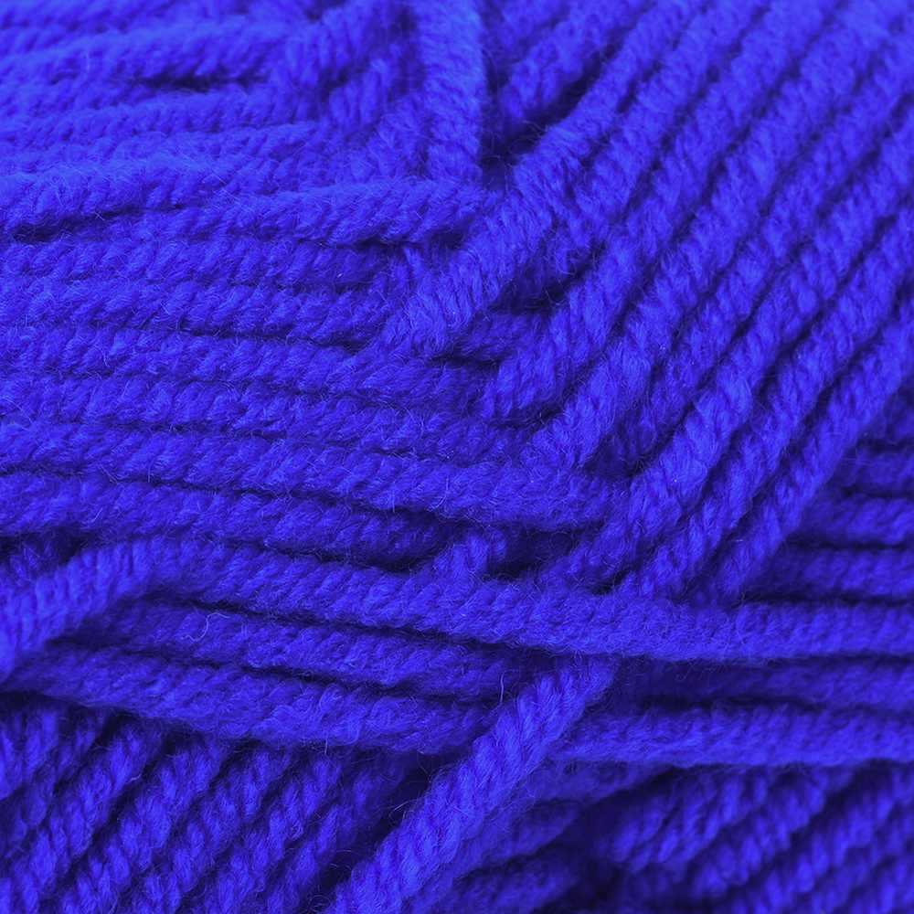1pc głębokie niebieski zima DIY miękkie włóczka mleczna bawełna włóczka Baby Wool na drutach ręcznie dzianinowy koc sweter szalik lalka przędza do szydełkowania