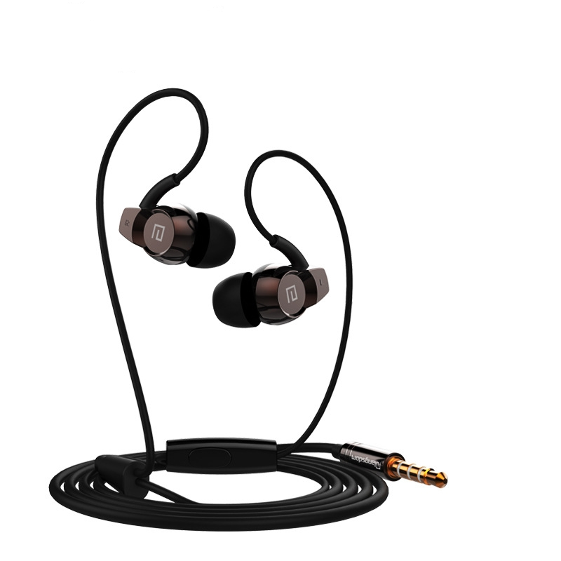 XUNIANGE  3.5mm In-Ear Sport  Earbuds  Stereo Super Bass Headset with MIC for iPhone Samsung Phones MP3 MP4