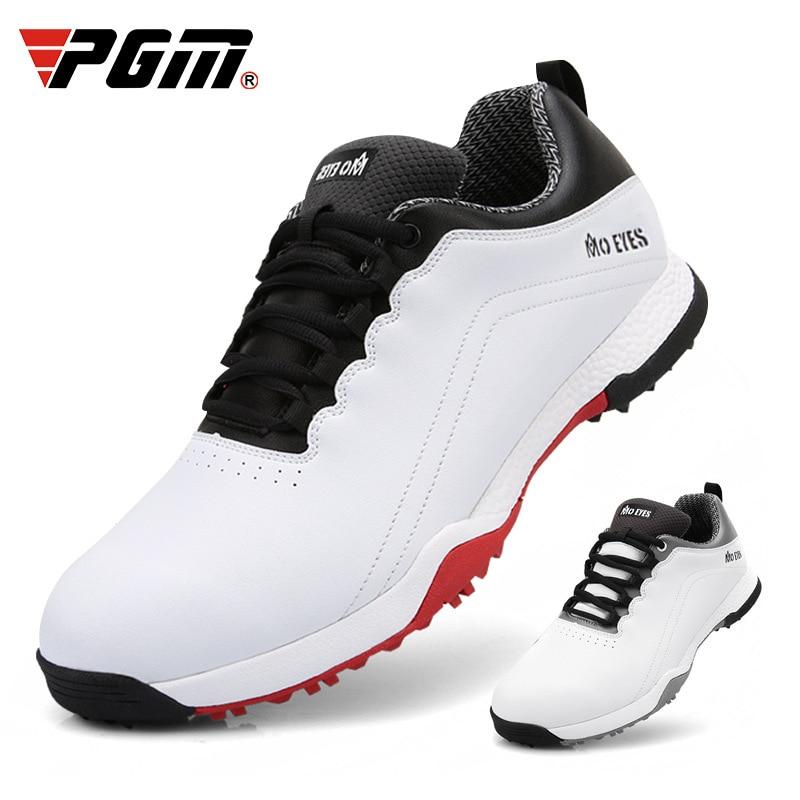 a4d943f733 ... transpirable antideslizante zapatillas D0705. Cheap PGM hombres zapatos  de Golf impermeables deportes al aire libre zapatos EVA media fibra de