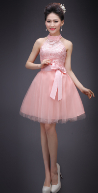 1f5dd64ca6aa9 cheap peach pink girls hot sale sexy halter top sweet 16 homecoming ...