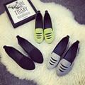 2016 Мода Женщины Повседневные Плоские Туфли Весна Осень женская Блестками Холст Обувь для Женщин alpargatas Бездельников