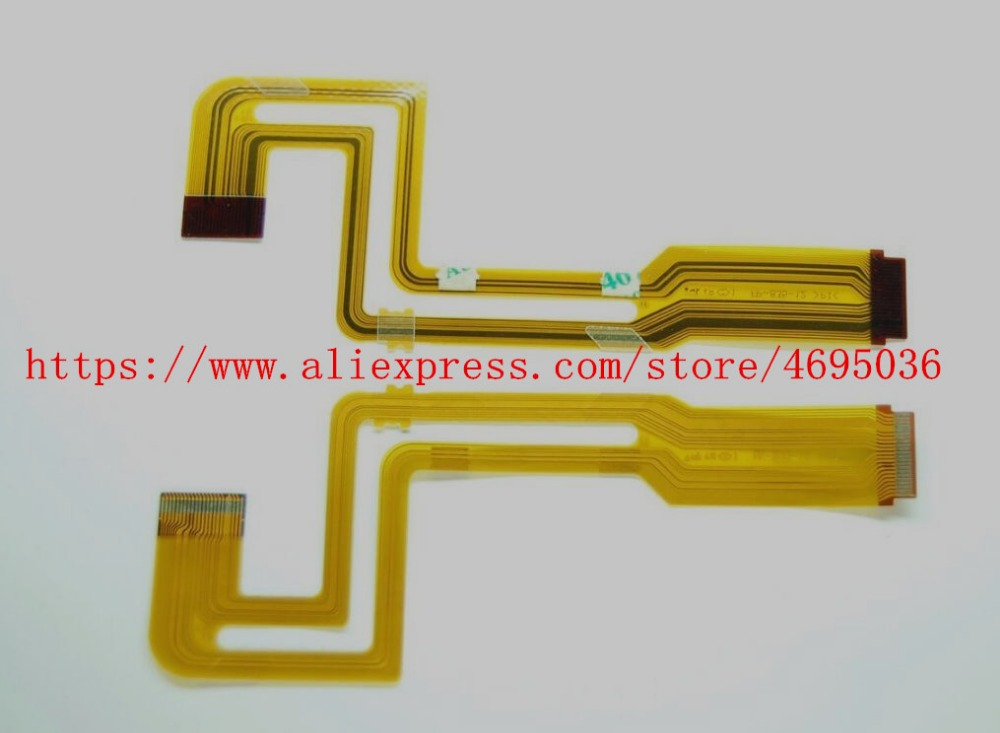 2PCS/ FP-835-12 NEW LCD Flex Cable For SONY DCR-HC18E DCR-HC20E DCR-HC30E DCR-HC40E HC18E HC20E HC30E HC40E HC16E Video Camera
