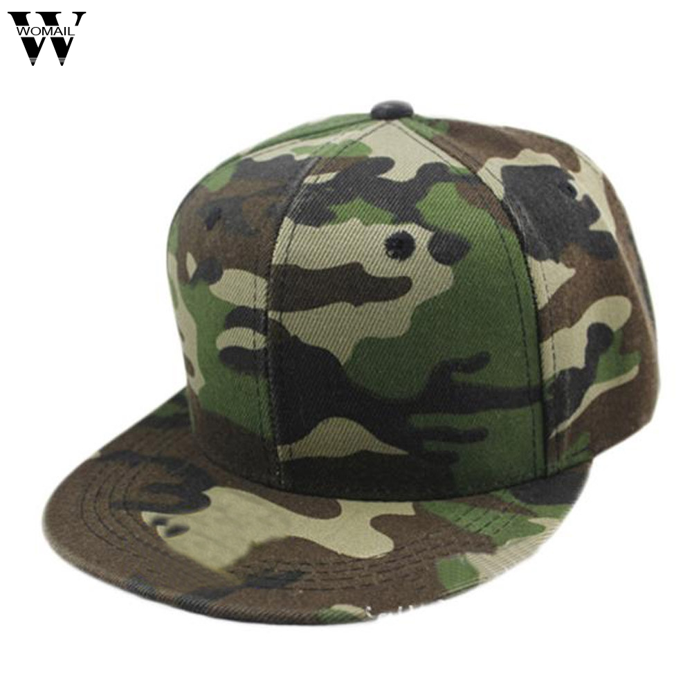 Unisex Men Women   Baseball     Cap   Camouflage Adjustable Snapback Hat Canvas Hip Hop Dance Hat fashion   cap