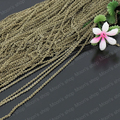 Wholesale Copper Antique Bronze Chain width 1mm Soldered Link Chains Diy Fashion Jewelry Findings Accessories 5 Meter(JM116)