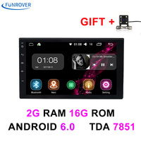 2 Two Din 7 Inch In Dash Universal Car Radio Player No Dvd Gps Navigation Android