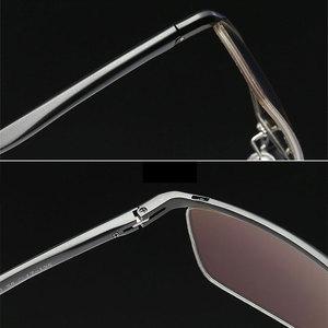 Image 5 - Toptical 眼鏡光学メガネフレーム男性眼鏡処方ため半リムレス眼鏡ハーフリム glassses