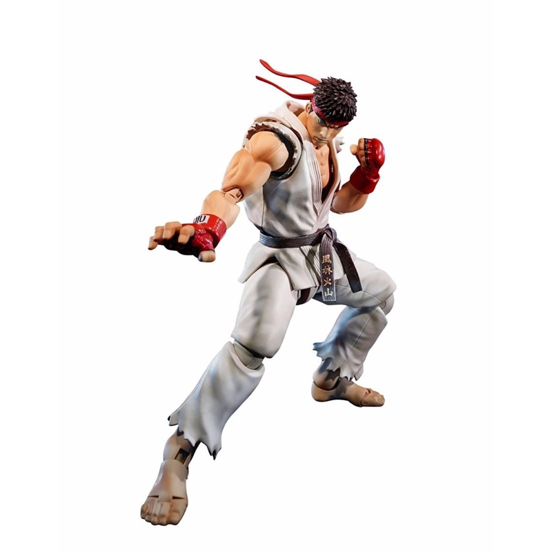 Street Fighter V Hoshi Ryu Action FIgure SHF Japan Anime Collectible Model Kid Toys In Box cmt instock dasin model dm slam dunk hanamichi sakuragi s h figuarts shf pvc action figure anime toys figure