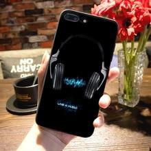 Vinyl record phone case for iPhone 8 7 6 6S Plus X 5 5S SE 5C