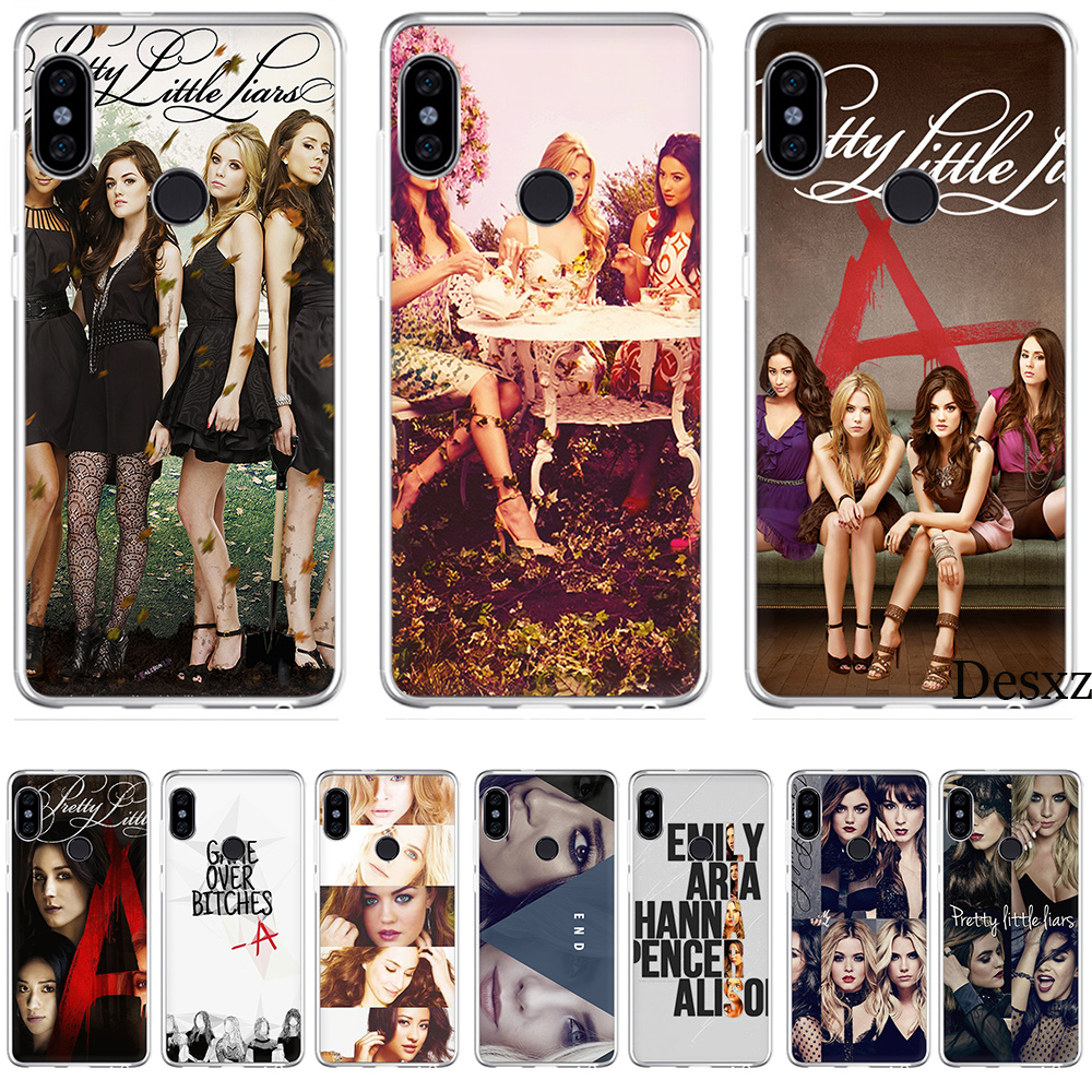 Phone Case Cover Pretty Little Liars PLL TV Show For Xiaomi Redmi Mi 4 5 6 8 4X 5A Note Pro S2 F1 Lite Se Mix