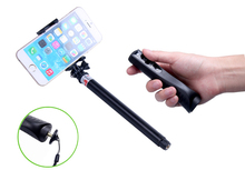 Extendable Aluminium Selfie Stick Bluetooth Gopro Action Camera Accessories For iphone 4 5 5s 6 6s 6 plus Samsung Galaxy Android