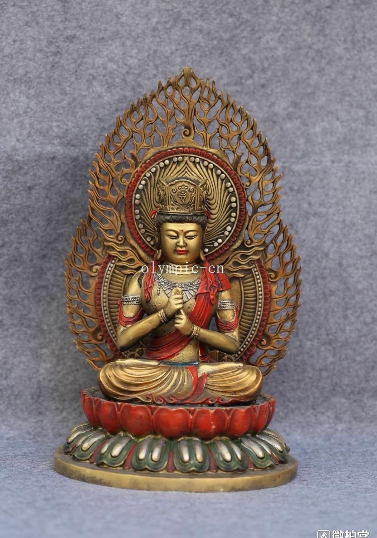 17 bronze gild silver colored drawing Sakyamuni tathagata Vairocana buddha17 bronze gild silver colored drawing Sakyamuni tathagata Vairocana buddha
