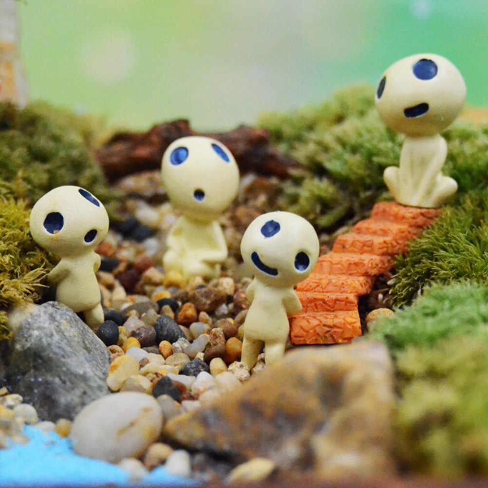 Мини инопланетное дерево Фея Хаяо Миядзаки Тоторо Модель Фигурки миниатюрные украшения микро пейзаж Сад декорация для террариума смолы