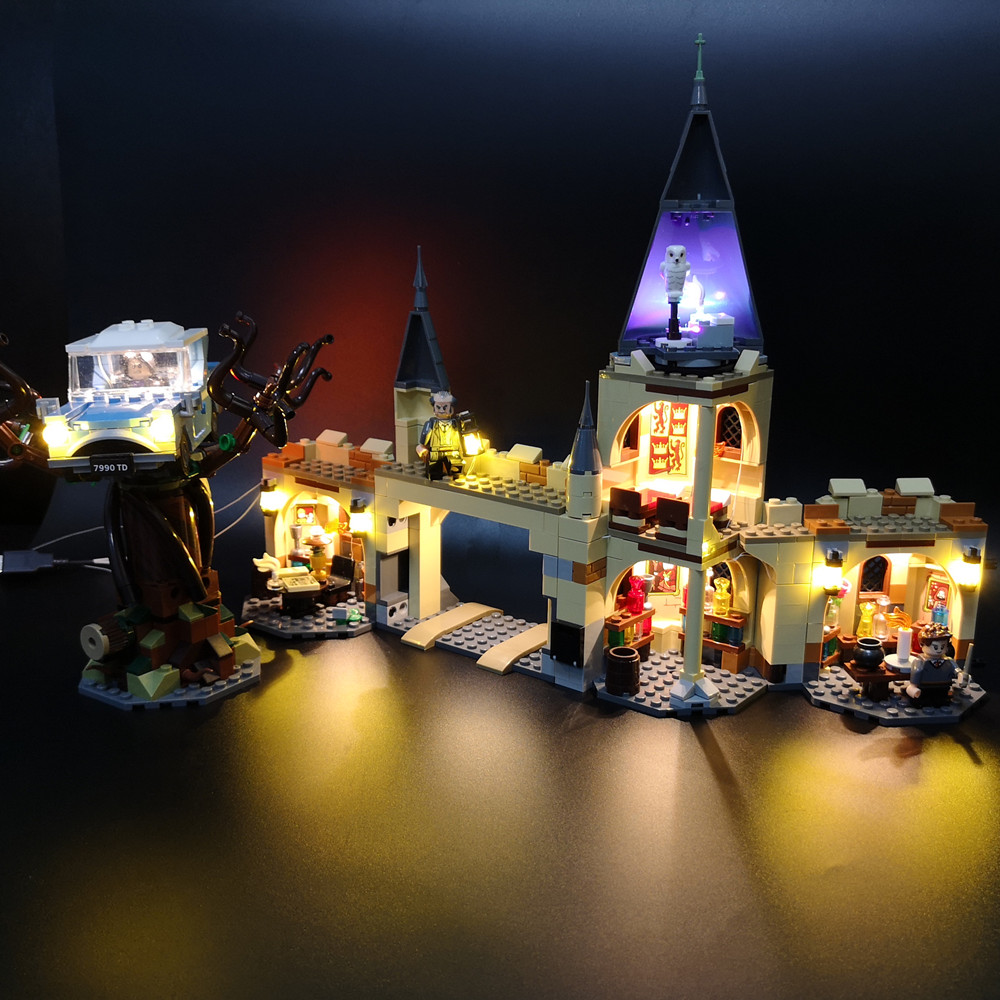 Led Light Up Kit For Lego 75953  Hogwarts Whomping Willow Light Set (NOT Include Model)