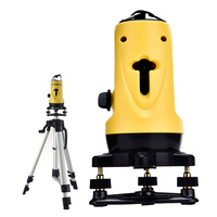SL201 2 Lines Cross Laser Level Device 360 Degrees Rotary Functional Self leveling Can Be Used With Household Outdoor Receiver