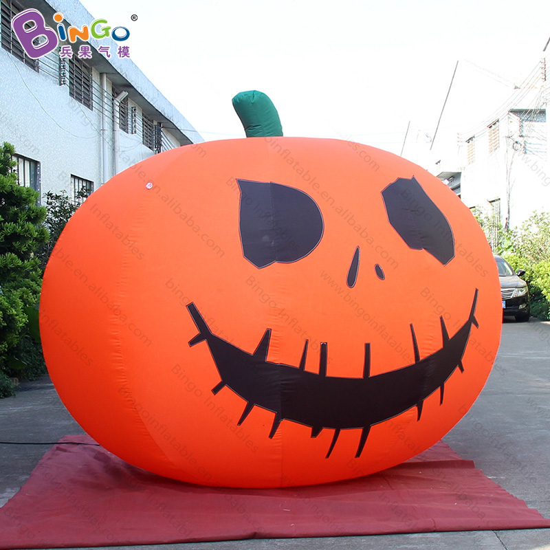 Halloween 3M tall inflatable devil pumpkin balloon-inflatable toyHalloween 3M tall inflatable devil pumpkin balloon-inflatable toy