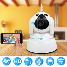WiFi IP Camera 720P HD Wireless Indoor Home Security Surveillance Camera With Night Vision Motion Detection Playback For Baby