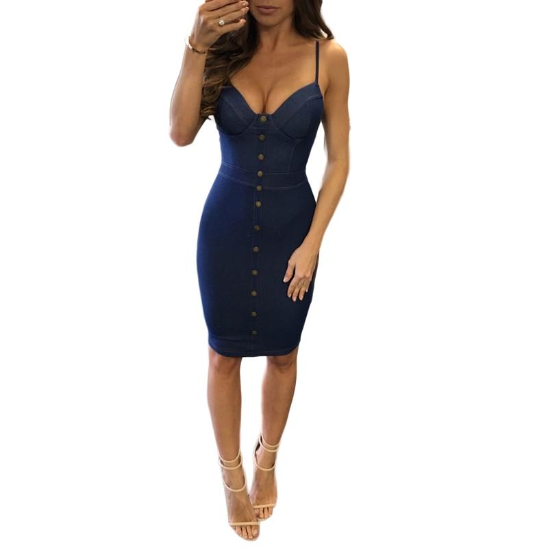 Online Get Cheap Strapless Denim Dress -Aliexpress.com | Alibaba Group