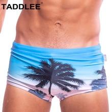Taddlee Brand Sexy Men's Swimwear Swimsuits Swim Boxer Briefs Bikini Men Bathing Suits Penis Pouch Gay Surf Board Trunk Low Rise