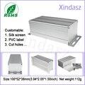 Настенный алюминиевый корпус балласта металла распределительная коробка Экструзии Алюминия Корпус 100*52*38 мм