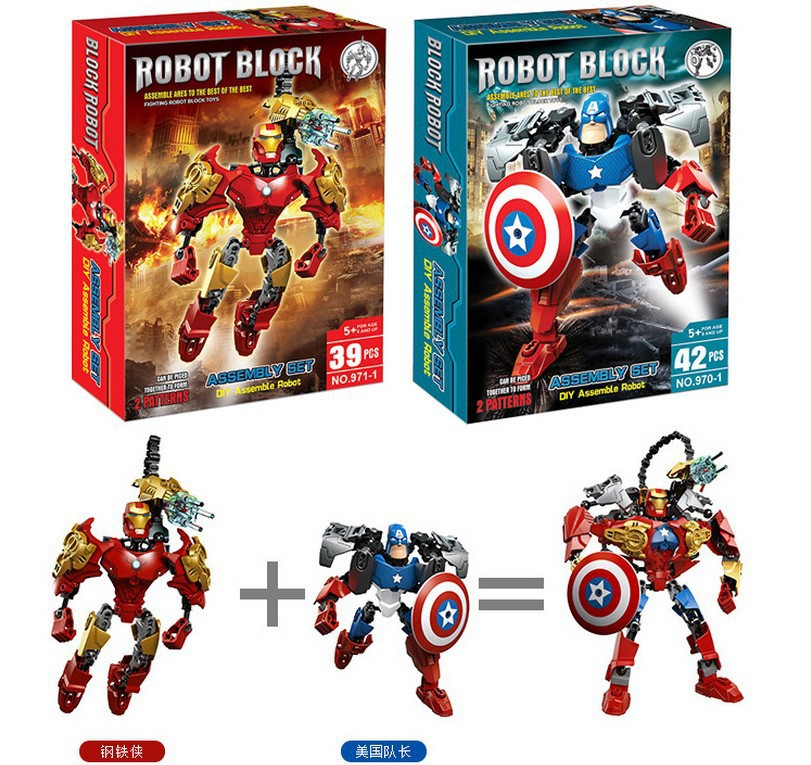 ФОТО 2016 hot lepin super hero minifigures building blocks toys batman captain america,iron man,hulk model toys for chidren legeod