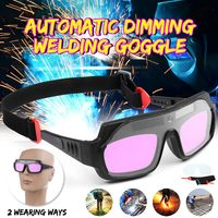 Earwear Headwear Solar Auto Darkening Eyes Mask Welding Helmet Welding Mask Eyeshade/Patch/Eyes Goggles for Welder Eyes Glasses