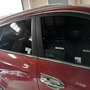 Image 5 - カーサンシェードカバー窓色合いガラスフィルム黒uvプロテクターメッシュカバーステッカー防蚊カーテン外装アクセサリー # b
