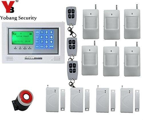 Yobang Security Home Security System Auto Dialer PIR Motion Sensor,House intelligent Burglar Security Alarm System system security through log analysis