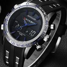 Relogio masculino спортивные часы Для мужчин Водонепроницаемый Военное Дело Элитный бренд мужской наручные часы цифровые электронные светодиодные шок часы xfcs