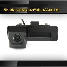 HD камера Заднего Вида CCD Автомобиля Ночного Видения Камера Заднего Вида для Audi A1/Skoda Octavia Fabia Бесплатная Доставка