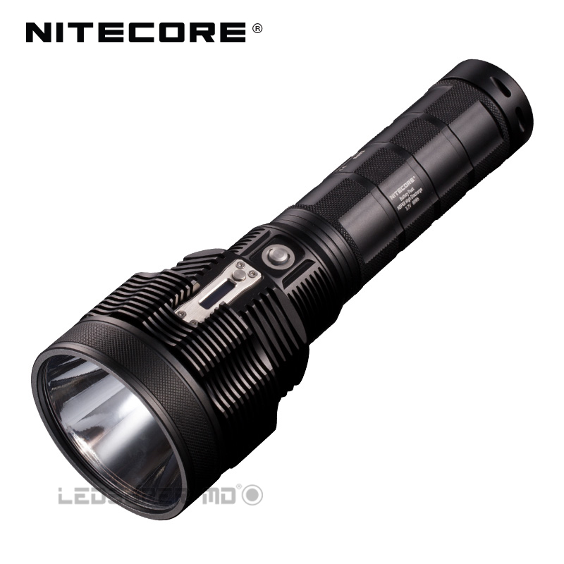 Tiny Monster Series Nitecore TM38 CREE XHP35 HI D4 LED 1800 Lumens Rechargeable Searchlight With Beam Distance 1400 Meters 2017 new nitecore tm38 lite tiny monster cree xhp35 hi d4 1800 lumen long throw rechargeable led flashlight