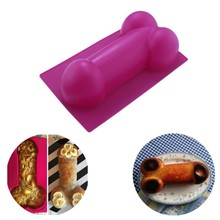 Kitchen Novelty Big Size Sexy Penis Silicone Chocolate Ice Jelly Birthday Cake Moulds Hens Party Cake Decorating Tools Supplies