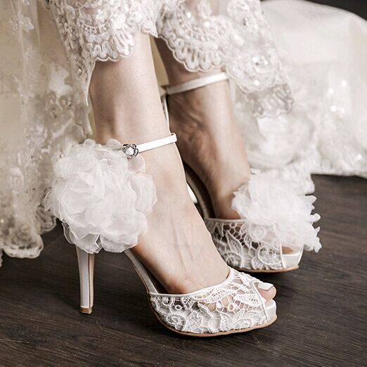 Popular White Ankle Strap High Heels-Buy Cheap White Ankle Strap