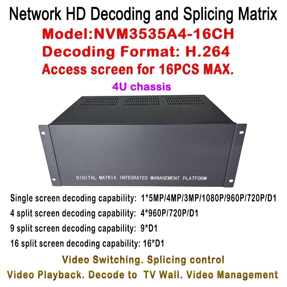 New HDMI HD IP font b Video b font Matrix Switcher 5MP 2MP 1 3 1MP