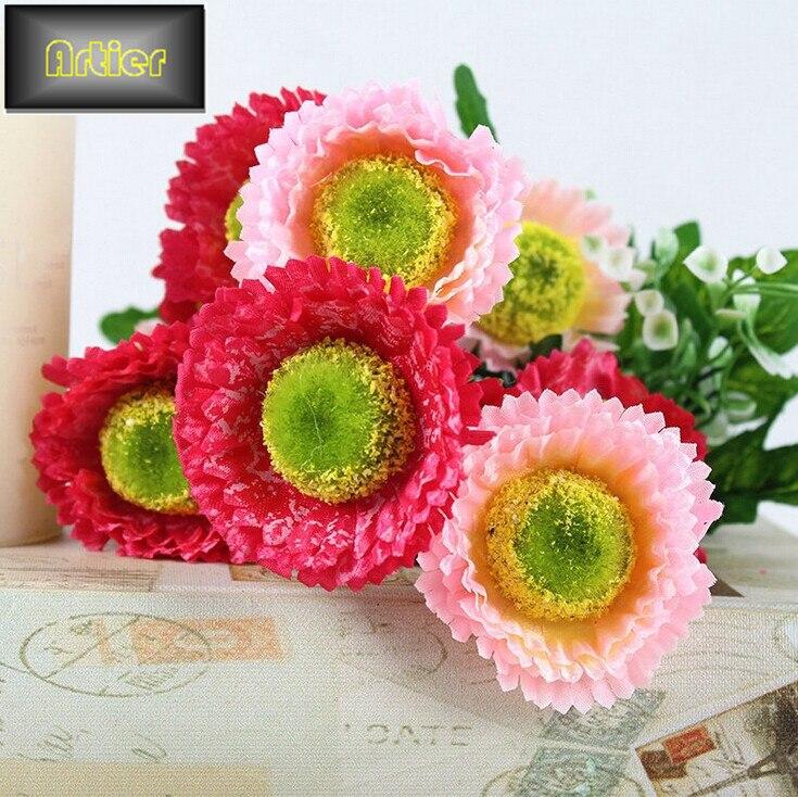 style frais 5 fourche printemps neige chrysanthme ultra faible cot chaude printemps fleurs en gros ventes - Cout Fleuriste Mariage