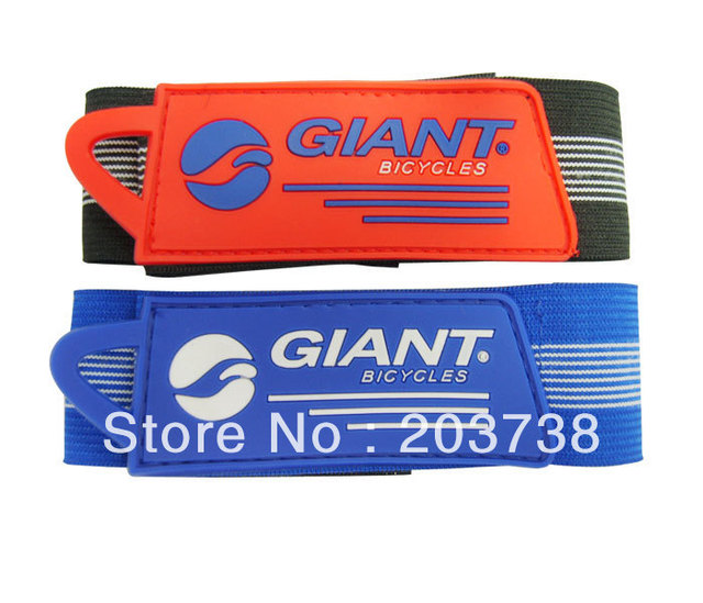 Free Shipping 50pcs/lot Bicycle Elasticity Pants Strap Trouser Band Belt Reflect Light Belt,moutain  Bicycle Accessories