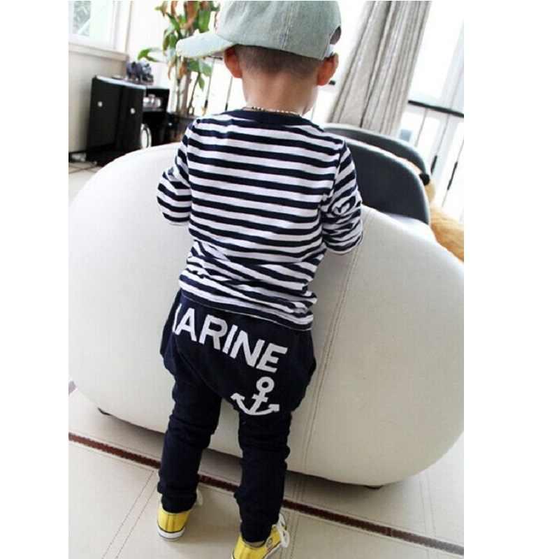 3ab096246621 ... Морской флот Sailor Обувь для мальчиков спортивные Костюмы комплект  детской одежды для мальчика Детский спортивный костюм ...