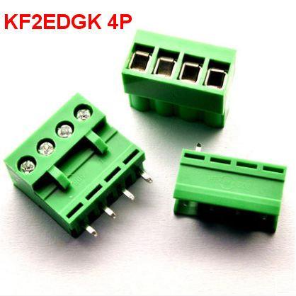 10 sets/lot HT5.08 2 3 4 5pin Terminal plug type 300V 10A KF2EDGK 5.08mm pitch PCB connector screw terminal block Free shipping 2 set lot neutrik powercon type a nac3fca nac3mpa 1 chassis plug panel adapter