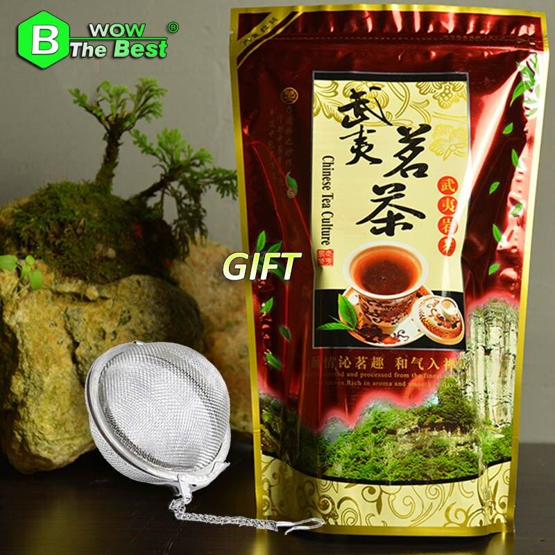 1PC Tea strainer+200g Oolong Tea Da Hong Pao RouGui Cinnamon Chinese Tea Dahongpao Big Red Robe Dahunpao Te Slimming Tea