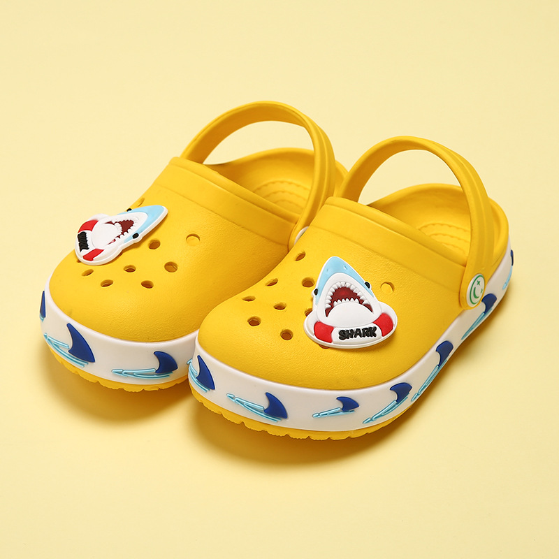Kids Slippers Cartoon Summer Beach Croc Shoes For Children Shark Outdoor Boys Garden Clogs Unicorn Non Slip Girls SandalsKids Slippers Cartoon Summer Beach Croc Shoes For Children Shark Outdoor Boys Garden Clogs Unicorn Non Slip Girls Sandals