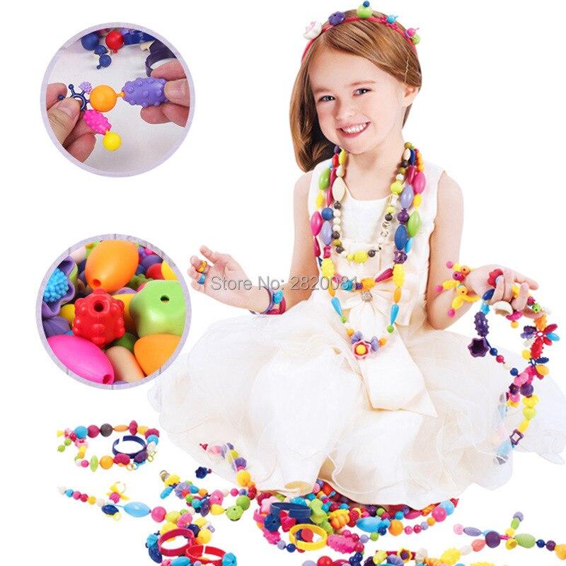Fai da te accessori per gioielli in plastica Pop Beads 300Pz per Arty-5601