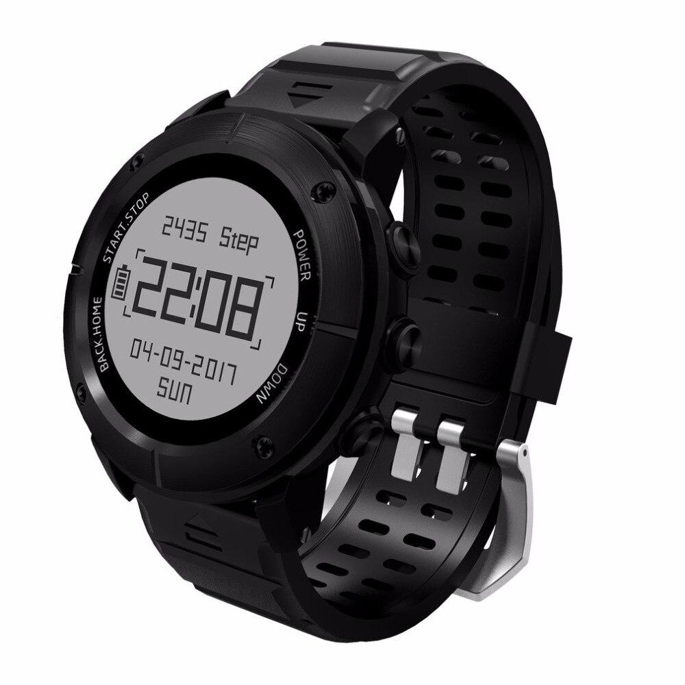 UW80 GPS Montre Intelligente SOS Thermomètre Manomètre Sport Moniteur de Fréquence Cardiaque Bluetooth Podomètre Smartwatch Ventes Chaudes