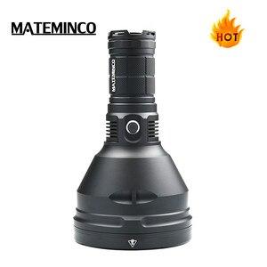 Image 2 - Mateminco MT35 زائد 2416 متر سوبر قوية طويلة المدى 2700 لومينز الصيد التكتيكية عالية مصباح وامض led مصباح شعلة