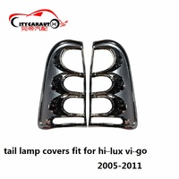 Citycarauto Car Styling Lamp Hoods Cover Fit For Hilux Vigo Auto Accessories Tail Lamp Cover Rear