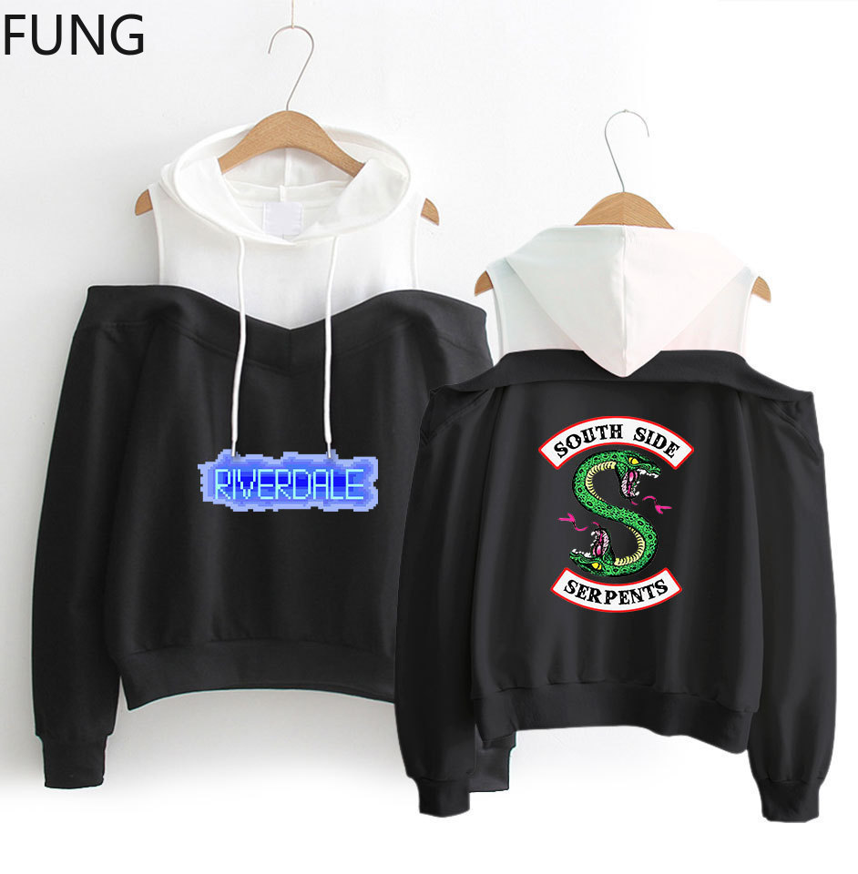 Riverdale South Side Serpents Hoodies Women Hooded Women Fashion Hoodies and Sweatshirts Pullover Womens Clothing