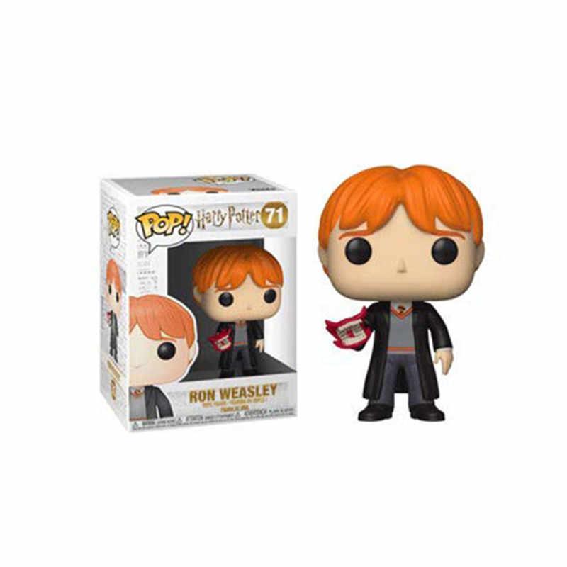 FUNKO POP Brinquedo Quente Harri Potter RON Sirius Black Hedwig Dobby PVC Action Figure Coleção Modelo brinquedos para As Crianças de Natal presente