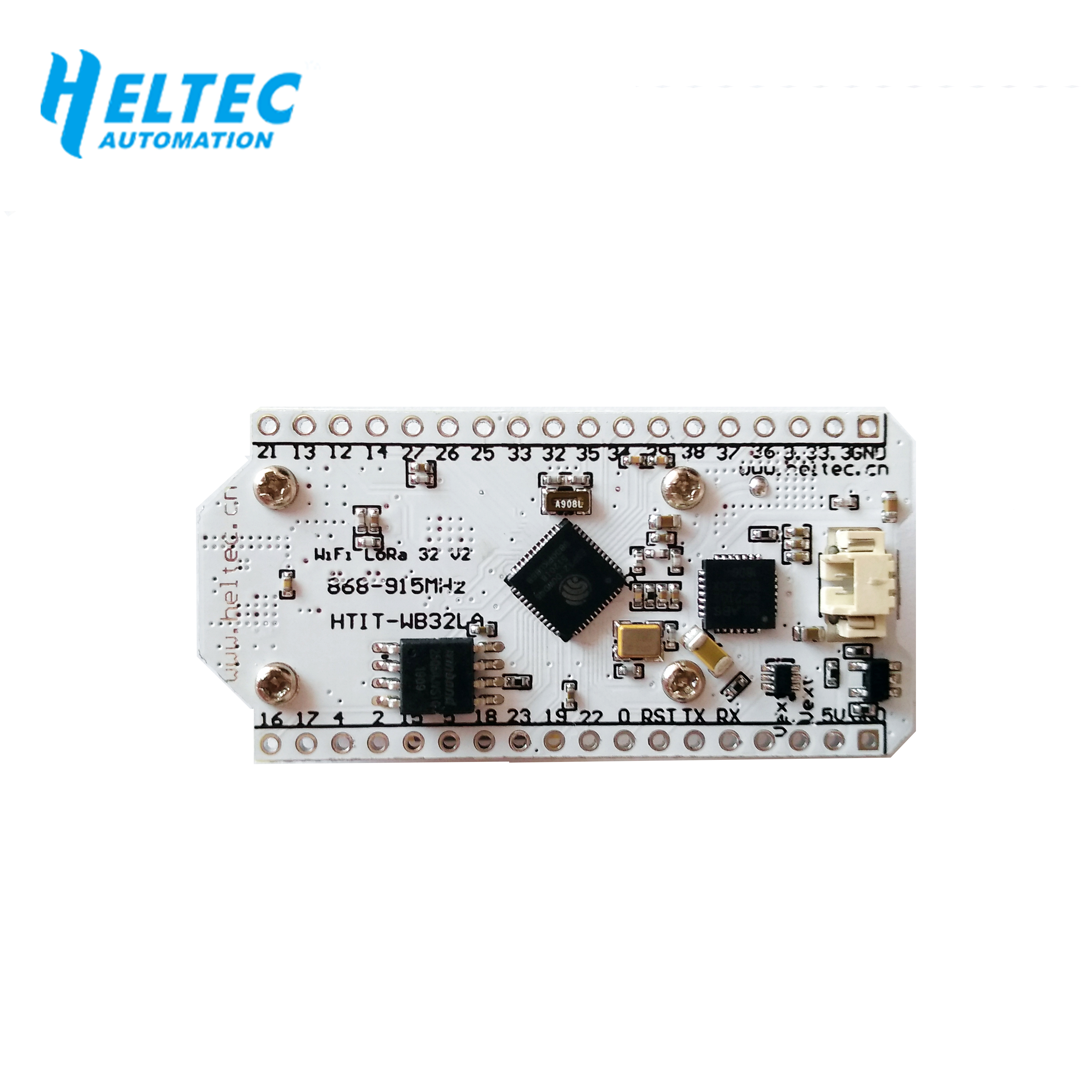 Image 5 - 2PCS IOT 868MHz 915MHz SX1276 ESP32 LoRa 0.96 Inch Blue OLED Display Bluetooth WIFI Lora Kit 32 V2 Development Board for Arduino-in Home Automation Modules from Consumer Electronics