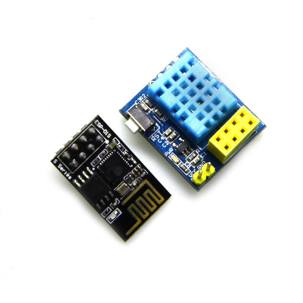ESP-01 ESP-01S ESP01 DHT11 Temperature Humidity Sensor wifi Module ESP8266 NodeMCU Smart Home IOT For Arduino development board doit v3 new nodemcu based on esp 12f esp 12f from esp8266 serial wifi wireless module development board diy rc toy lua rc toy